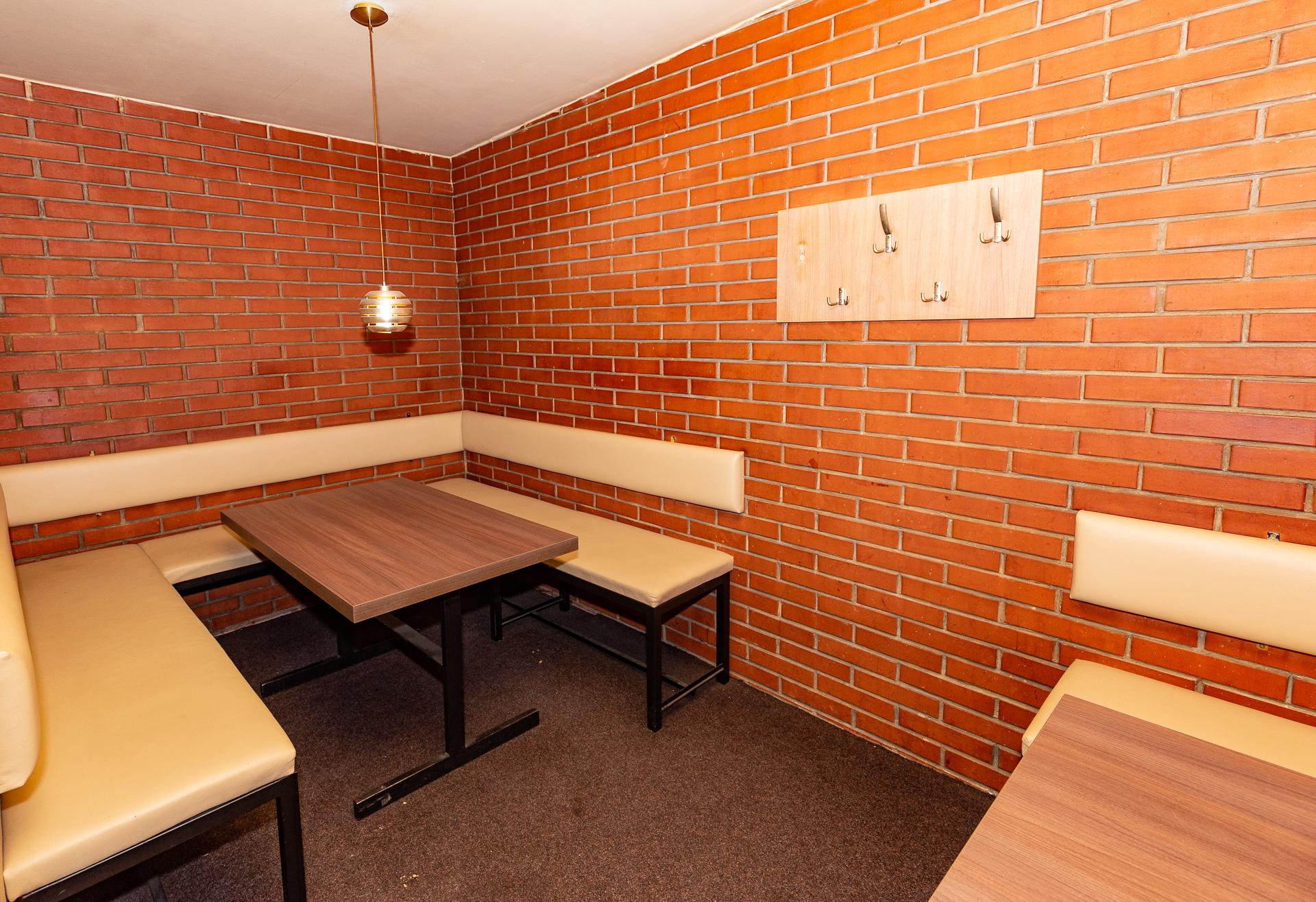 salonek pro sezení komerčního prostoru Jana Palacha v Pardubicích