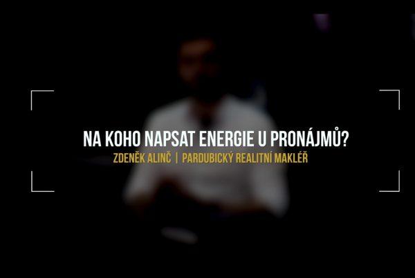 Na koho napsat energie u pronájmů?