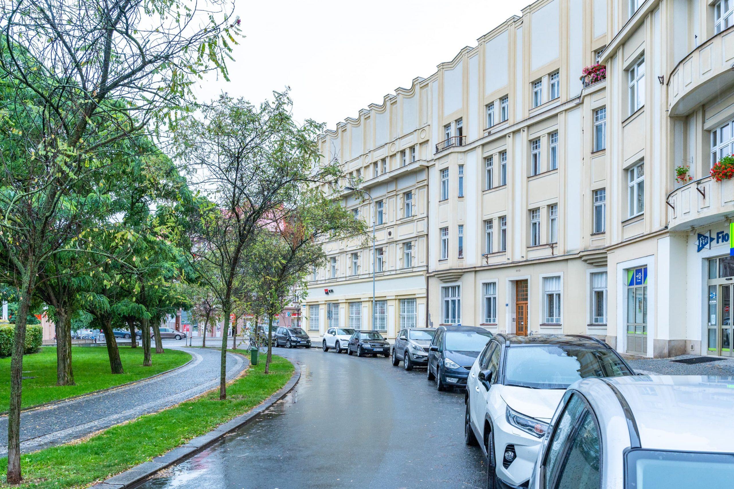 Dům na Masarykově náměstí v Hradci Králové